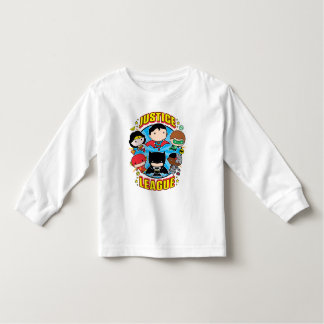 Chibi Justice League Group Toddler T-Shirt