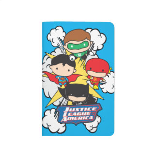 Chibi Justice League of America Explosion Journal