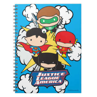Chibi Justice League of America Explosion Notebooks