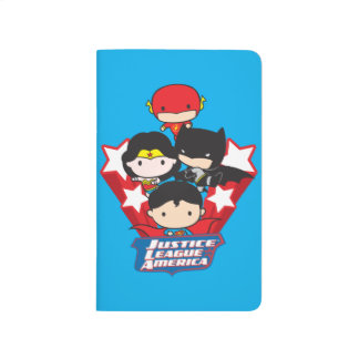 Chibi Justice League of America Stars Journals