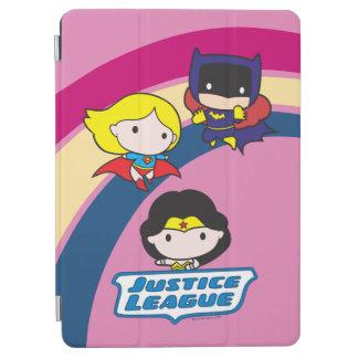 Chibi Justice League Rainbow iPad Air Cover