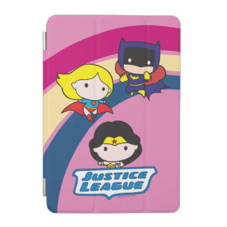 Chibi Justice League Rainbow iPad Mini Cover