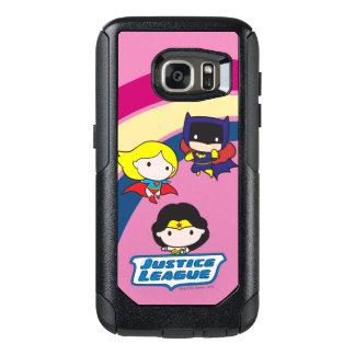 Chibi Justice League Rainbow OtterBox Samsung Galaxy S7 Case