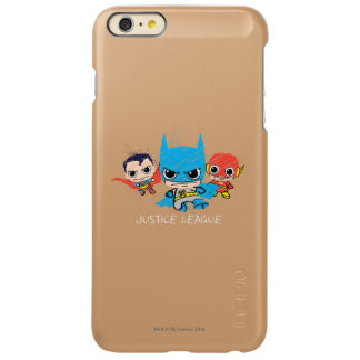 Chibi Justice League Sketch iPhone 6 Plus Case