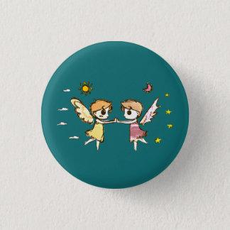 Chibi Keepers 3 Cm Round Badge