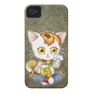 Chibi Maneki Neko iPhone 4 Case-Mate Cases