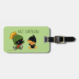 Chibi MARVIN THE MARTIAN™ & DAFFY DUCK™ Luggage Tag