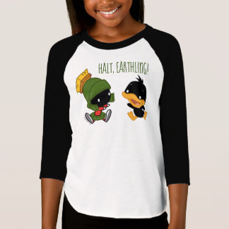 Chibi MARVIN THE MARTIAN™ & DAFFY DUCK™ T-Shirt