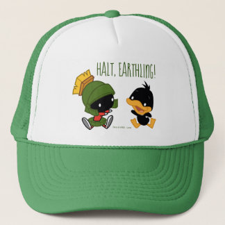 Chibi MARVIN THE MARTIAN™ & DAFFY DUCK™ Trucker Hat