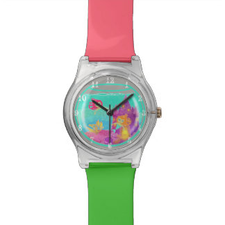 Chibi Mermaids ladies watch