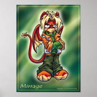 Chibi Mirrage Poster
