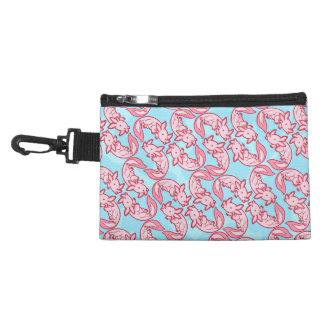 Chibi pink Axolotl pattern Chido Accessories Bag