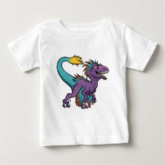 Chibi purple feathered velociraptor baby T-Shirt