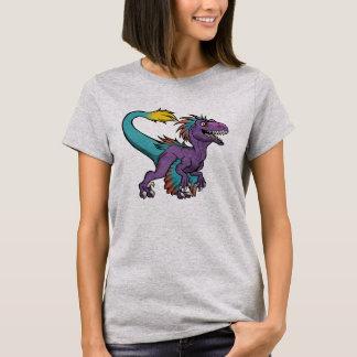 Chibi purple feathered velociraptor T-Shirt