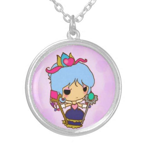 Chibi queen pendant