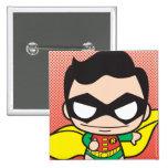 Chibi Robin 15 Cm Square Badge