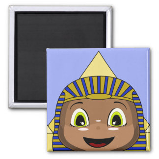 Chibi Sphinx With Pyramids Magnet