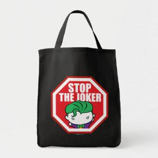 """Chibi """"Stop The Joker"""" Sign Tote Bag"""
