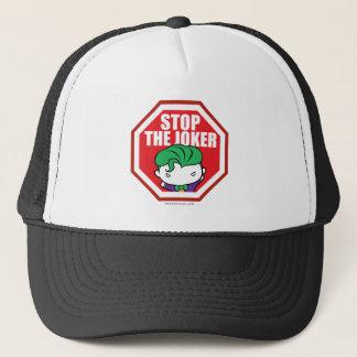 """Chibi """"Stop The Joker"""" Sign Trucker Hat"""