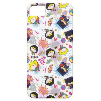 Chibi Super Heroine Pattern iPhone 5 Case