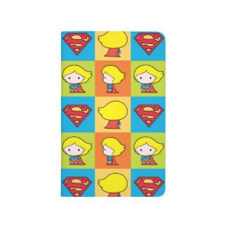Chibi Supergirl Character Turnaround Journal