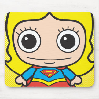 Chibi Supergirl Mouse Pads