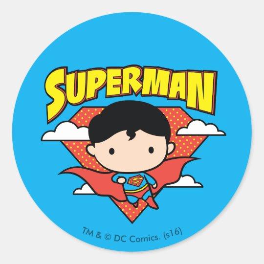 Chibi Superman Polka Dot Shield and Name Classic