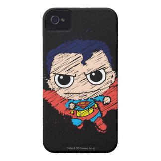 Chibi Superman Sketch iPhone 4 Covers