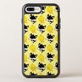 Chibi SYLVESTER™ Chasing TWEETY™ OtterBox Symmetry iPhone 8 Plus/7 Plus Case