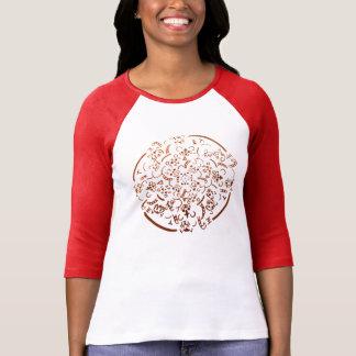 Chibi Tiger Mandala T-Shirt