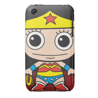 Chibi Wonder Woman Case-Mate iPhone 3 Cases