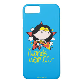 Chibi Wonder Woman Flying With Lasso iPhone 8/7 Case