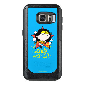 Chibi Wonder Woman Flying With Lasso OtterBox Samsung Galaxy S7 Case