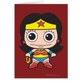 Chibi Wonder Woman Greeting Card
