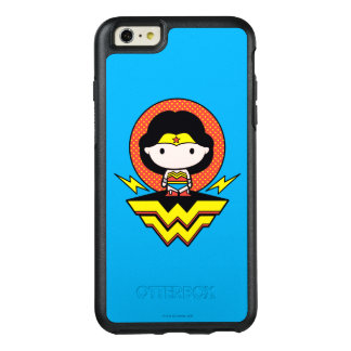 Chibi Wonder Woman With Polka Dots and Logo OtterBox iPhone 6/6s Plus Case