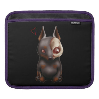 Chibi Zombie Dog iPad sleeve