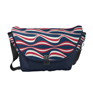 Chic abstract american Labor Day Pattern Commuter Bag