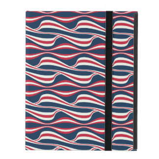 Chic abstract american Labor Day Pattern Cover For iPad