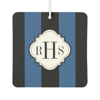 CHIC AIR FRESHENER_CLASSIC BLUE/BLACK/WHITE CAR AIR FRESHENER