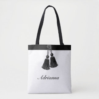 CHIC ALL OVER PRINT TOTE_BRIDESMAID_THANK YOU TOTE BAG