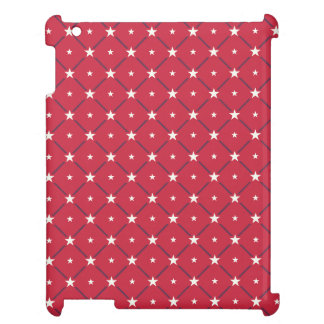 Chic american Labor Day Pattern with Stars Cover For The iPad