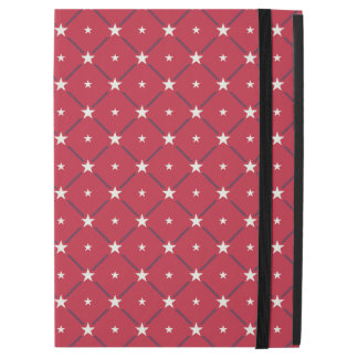 "Chic american Labor Day Pattern with Stars iPad Pro 12.9"" Case"