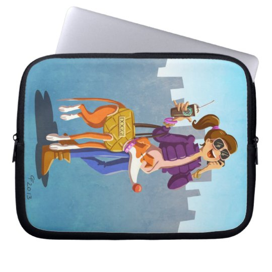 Chic and fancy laptop sleeve