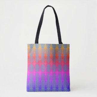 Chic and Fun Bright Geometric Pattern Tote