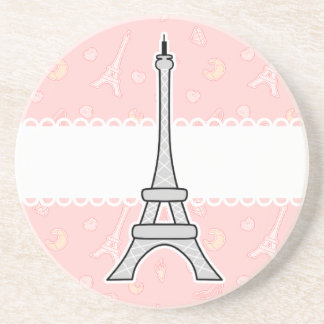 Chic and trendy girly Paris Eiffel tower Coasters