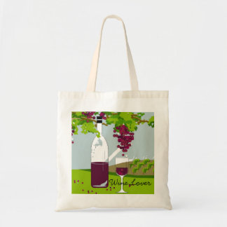 CHIC BAG_ WINE LOVER CANVAS BAGS