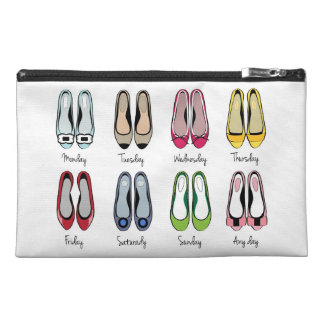 Chic Bagette Bag- Ballerinas Travel Accessory Bag