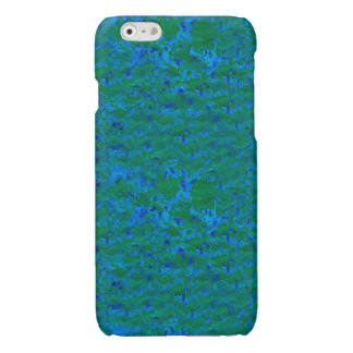 Chic Blue and Sea Green Textures iPhone 6 Case iPhone 6 Plus Case