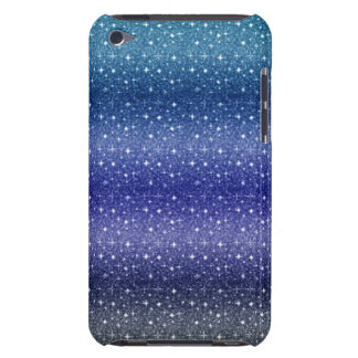 Chic Blue iPod Touch,Barely There Phone Case