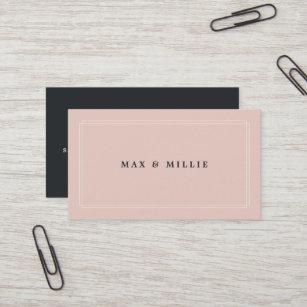 Management business cards zazzle uk chic blush boutique store manager business card colourmoves
